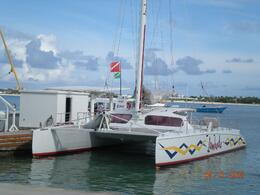 Photo of St Maarten Anguilla Day Trip from St. Martin Here's the boat!