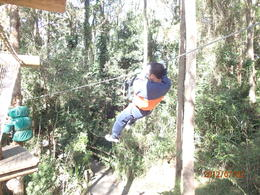 One of the challenge.. Flying fox.. , ath30 - July 2012