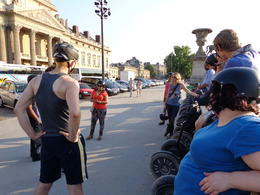 Photo of Paris Paris City Segway Tour Parked in front of the Military School