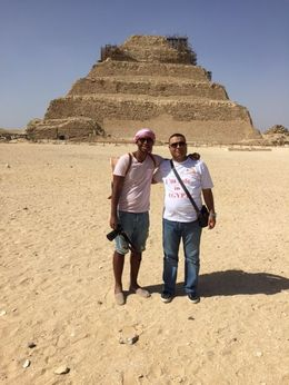 Me and my tour guide Ahmed Zakaria , Michael M - May 2016