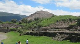 Photo of Mexico City Teotihuacan Pyramids and Shrine of Guadalupe Sun Pyramid