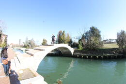 Photo of Venice Murano, Burano and Torcello Half-Day Sightseeing Tour Torcello: Le pont du diable