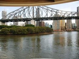 Photo of Brisbane Brisbane River Lunchtime Cruise View from the dining room