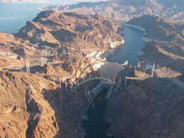 Photo of Las Vegas Grand Canyon All American Helicopter Tour view of the dam
