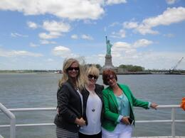 My sister and two besties up on deck enjoying the view. , Fionna G - June 2013