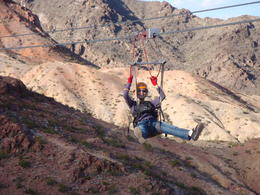 Photo of Las Vegas Bootleg Canyon Zipline Tour Ziplining