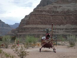 Photo of Las Vegas Grand Canyon All American Helicopter Tour about to take off