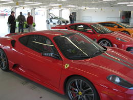 Photo of Las Vegas Exotic Car Driving Experience Power Package All lined up, ready to drive