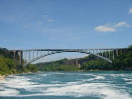 Canada --- Rainbow Bridge --- USA, Krishnan Vaitheeswaran - June 2009