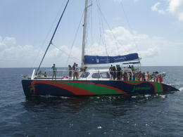 Photo of Barbados Beautiful Barbados Coastal Sightseeing Tour Catamaran