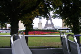Photo of Paris Paris L'Open Hop-On-Hop-Off Tour First glimpse of the Eiffel Tower