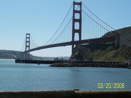 Golden Gate Bridge. - March 2008