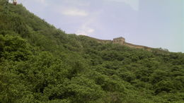 Great Wall at Mutianyu from the cablecar. , Joanne P - June 2016