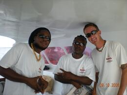 Photo of St Maarten Anguilla Day Trip from St. Martin Here's the crew, less the captain