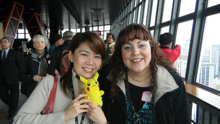 Here with Mina (My tour guide) - Tokyo