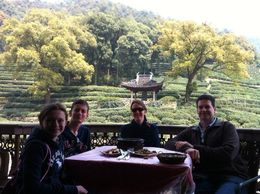 Lunch at the local tea farmer's house - February 2015