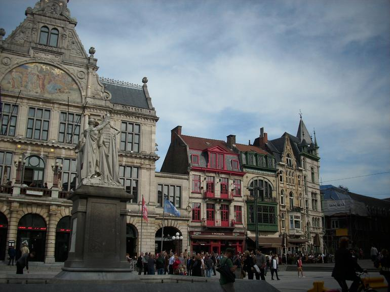 Main square in Ghent - Amsterdam