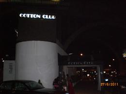 Reluctantly leaving the Cotton Club , Sheila - July 2011
