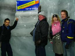 Viator's first tour to Jungfraujoch for the season., Brian W - May 2008