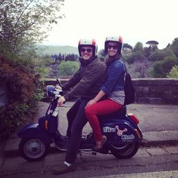 Photo of Florence Florence Vespa Tour: Tuscan Hills and Italian Cuisine Overlooking Florence