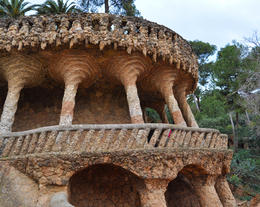 Photo of Barcelona Private Montserrat, Gaudi and Modernism Day Trip from Barcelona Park Guell