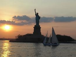 Photo of New York City New York City Harbor Lights Night Cruise Statue of Liberty by Newton Kid