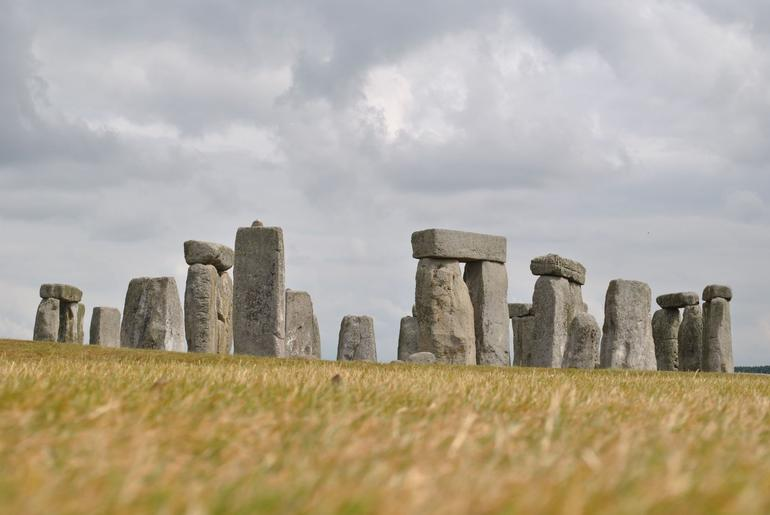 Stonehenge... from the ground - London