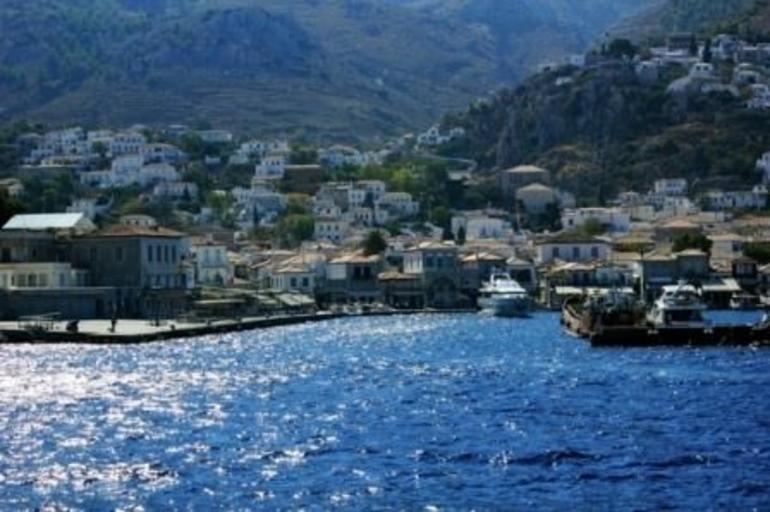 The port of Hydra (1) - Athens