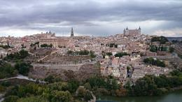 Photo of Madrid Toledo Half-Day or Full-Day Trip from Madrid Toledo from across the river