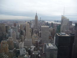 Photo of New York City Top of the Rock Observation Deck, New York View just before sunset