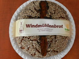 Delicious German bread from the historic windmill of Sanssouci near the Sanssouci Palace. , Cindy W - August 2013