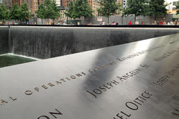 9/11 Memorial, Jules & Brock - July 2012