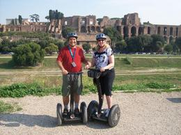 On our honeymoon. We added the Viator 3 Hour Roman Ruins Tour by Segway. This was so much fun riding up and down hills, into plazas, onto great over looks. Sometimes by sidewalk, sometimes down ... , Daniel D - October 2009
