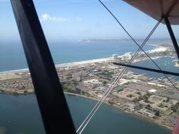 Photo of San Diego Open Cockpit Biplane Sightseeing Ride Aerial shot