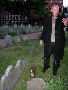 Photo of Boston Boston Ghosts and Gravestones Tour Among the grateful dead