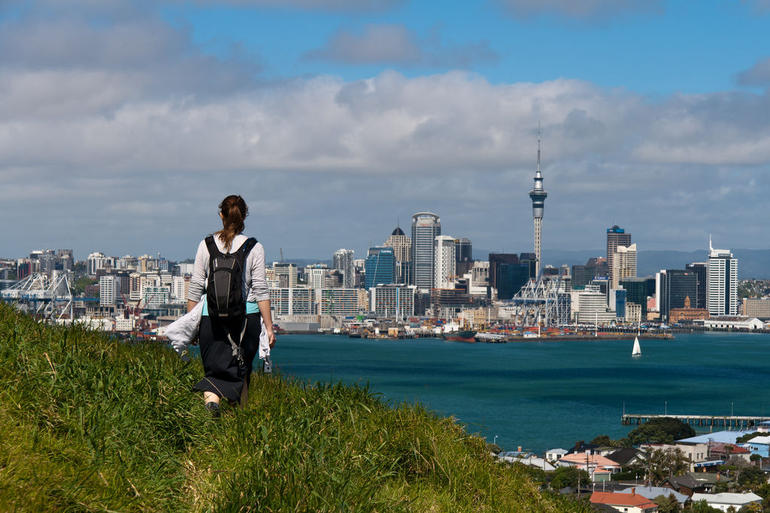 Auckland from Mount Victoria - Auckland