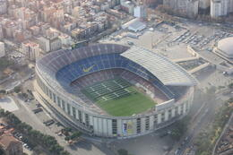 Camp Nou, SCV - January 2013