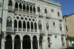 Ca' d'Oro is a jewel of Gothic architecture in Venice and is possibly the most representative example of a 14th Century residential building., Eleanor L - June 2008