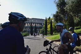 Photo of Rome Panoramic Bike Tour of Rome Coliseo