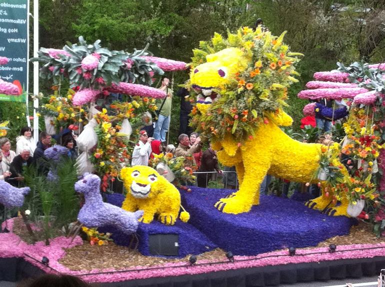 Flower Parade at Keukenhof Gardens, Holland - Amsterdam