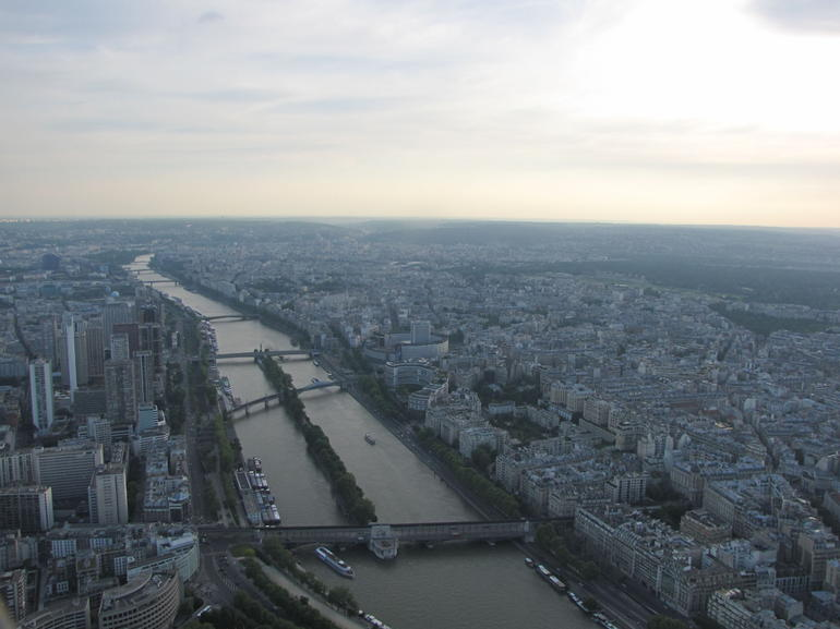 from the top - Paris
