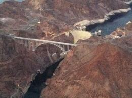 View of the Hoover Dam, taylor - December 2011