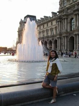 sunset at the Louvre, Ana M L - August 2010