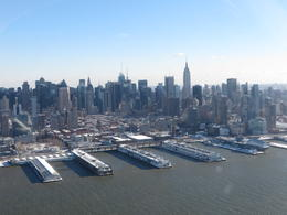 Photo of New York City Manhattan Sky Tour: New York Helicopter Flight Manhattan vanuit helikopter