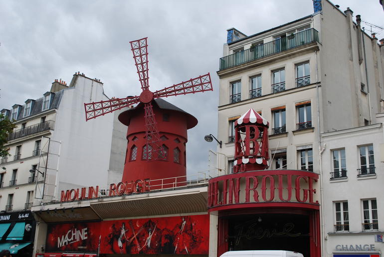 Moulin Rouge club in Montmartre - Paris