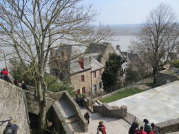 Looking down on the township from the battlements. , cacmum - April 2013