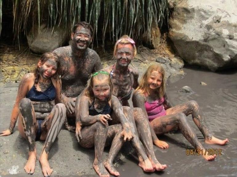 Mud baths - St Lucia