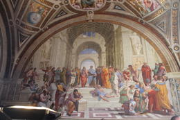 Photo of Rome Skip the Line: Vatican Museums Walking Tour including Sistine Chapel, Raphael's Rooms and St Peter's Raphael rooms in the Vatican