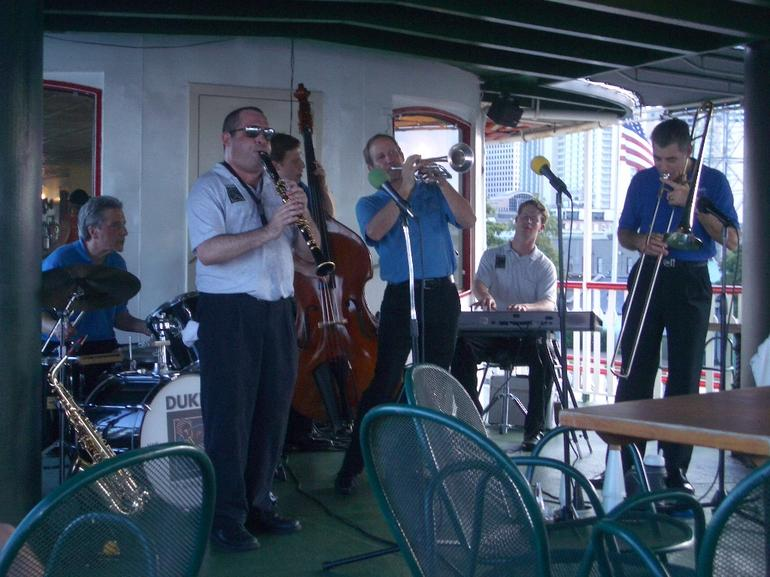 Steamboat and jazz tour - New Orleans