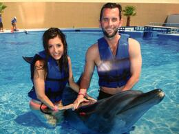 Swimming with Dolphins! - July 2014